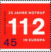 [The 25th Anniversary of the 112 European Emergency Number, Typ DDV]