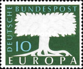 [EUROPA Stamps - No. 158 - Watermarked, type DE2]