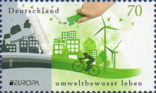 [EUROPA Stamps - Think Green, Typ DEN]