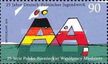 [The 25th Anniversary of the Polish-German Youth Cooperation - Joint Issue with Poland, Typ DEU]