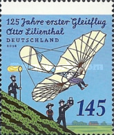 [The 125th Anniversary of the First Glider by Otto Lilienthal, 1848-1896, Typ DEX]