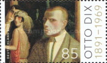 [the 125th Anniversary of the Birth of Otto Dix, 1891-1969, Typ DFK]