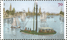 [Ships - The 200th Anniversary of Steamship Die Weser, Typ DFO]