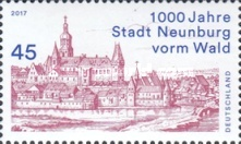 [The 1000th Anniversary of the City of Neunburg vorm Wald, type DFY]