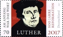 [The 500th Anniversary of the Reformation - Joint Issue with Brazil, type DGE]
