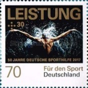 [The 50th Anniversary of Sports Charity Stamps, type DGM]