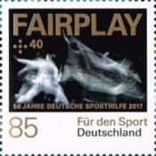 [The 50th Anniversary of Sports Charity Stamps, type DGN]