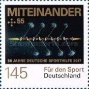 [The 50th Anniversary of Sports Charity Stamps, type DGO]
