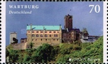 [EUROPA Stamps -  Palaces and Castles, Typ DGP]