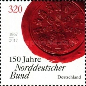 [The 150th Anniversary of the North German Confederation, type DGY]