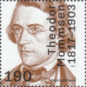 [The 200th Anniversary of the Birth of Theodor Mommsen, 1817-1903, type DHQ]