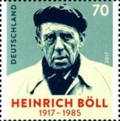 [The 100th Anniversary of the Birth of Heinrich Böll, 1917-1985, Typ DHW]