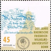 [The 200th Anniversary of the University of Bonn, type DIC]