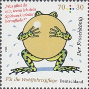 [Charity Stamps - The Frog Prince, type DIE]