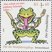 [Charity Stamps - The Frog Prince, type DIF]