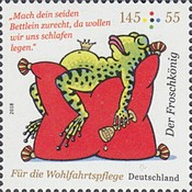 [Charity Stamps - The Frog Prince, type DIG]