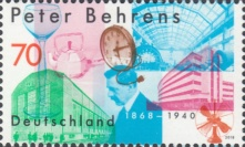 [The 150th Anniversary of the Birth of Peter Behrens, 1868-1940, type DIN]