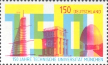[The 150th Anniversary of the Technical University of Munich, type DIO]