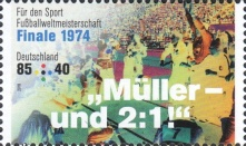 [Charity Stamps - Legendary Football Matches, type DIS]