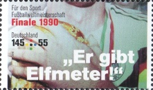 [Charity Stamps - Legendary Football Matches, type DIT]