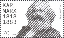 [The 200th Anniversary of the Birth of Karl Marx, 1818-1883, type DIU]