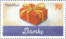 [Greetings Stamps, type DIX]
