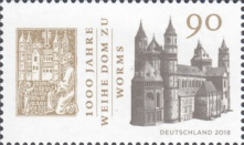[The 1000th Anniversary of the Wormser Dom, type DJB]