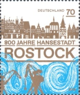 [The 800th Anniversary of Lübeck Law Rights for the City of Rostock, type DJC]