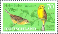 [EUROPA Stamps - National Birds, type DLC]
