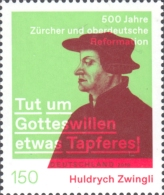 [The 500th Anniversary of the Reformation in Zurich and Southern Germany - Joint Issue with Switzerland, Typ DLD]