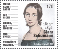 [The 200th Anniversary of the Birth of Clara Schumann, 1819–1896, Typ DLW]