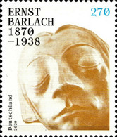 [The 150th Anniversary of the Birth of Ernst Barlach, 1870-1938, Typ DMK]