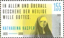 [The 200th Anniversary of the Birth of Katharina Kasper, 1820–1898, Typ DNK]