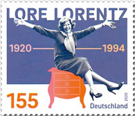[The 100th Anniversary of the Birth of Lore Loretz, 1920-1994, Typ DNW]