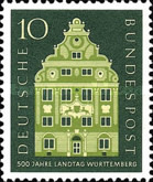 [The 500th Anniversary of the Württemberg Landtag, Typ DO]