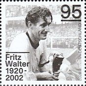 [The 100th Anniversary of the Birth of Fritz Walter, 1920-2002, Typ DOD]