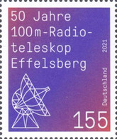 [The 50th Anniversary of the 100m Effelsberg Radio Telescope, type DPA]