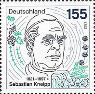 [The 200th Anniversary of the Birth of Sebastian Kneipp, 1821-1897, type DPB]