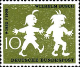 [The 50th Anniversary of the Death of Wilhelm Busch, type DQ]