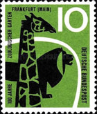 [The 100th Anniversary of the Frankfurt Zoo, type DW]