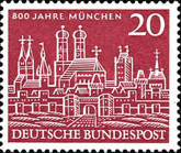 [The 800th Anniversary of Munich, type DX]