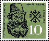 [The 400th Anniversary of the Death of Adam Riese, Typ EK]