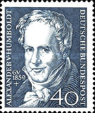 [The 100th Anniversary of the Death of Alexander von Humboldt, Typ EL]