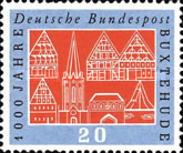[The 1000th Anniversary of the Town of Buxtehude, Typ EO]