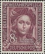 [Charity Stamps, Typ F]