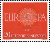 [EUROPA Stamps, type FK1]