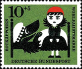 [Charity Stamps - Little Red Ridinghood, Typ FM]