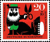 [Charity Stamps - Little Red Ridinghood, Typ FN]