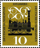 [The 125th Anniversary of the Railroads, Typ FR]