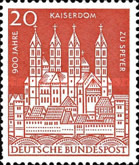 [The 900th Anniversary of the Speyer Cathedral, type GM]